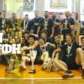 Εφηβική ομάδα μπάσκετ - Περιστέρι - πρωταθλητές